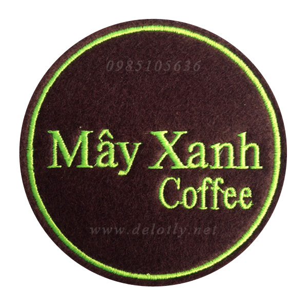 Mieng lot ly bang vai quan May Xanh coffee