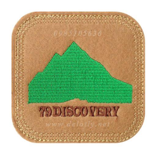 Lót ly vải nỉ hình vuông 79 Discovery