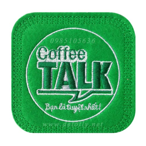 Lot ly bang vai ni cho quan coffee Talk