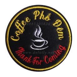 Đế lót ly bằng vải nỉ cho quán Coffee
